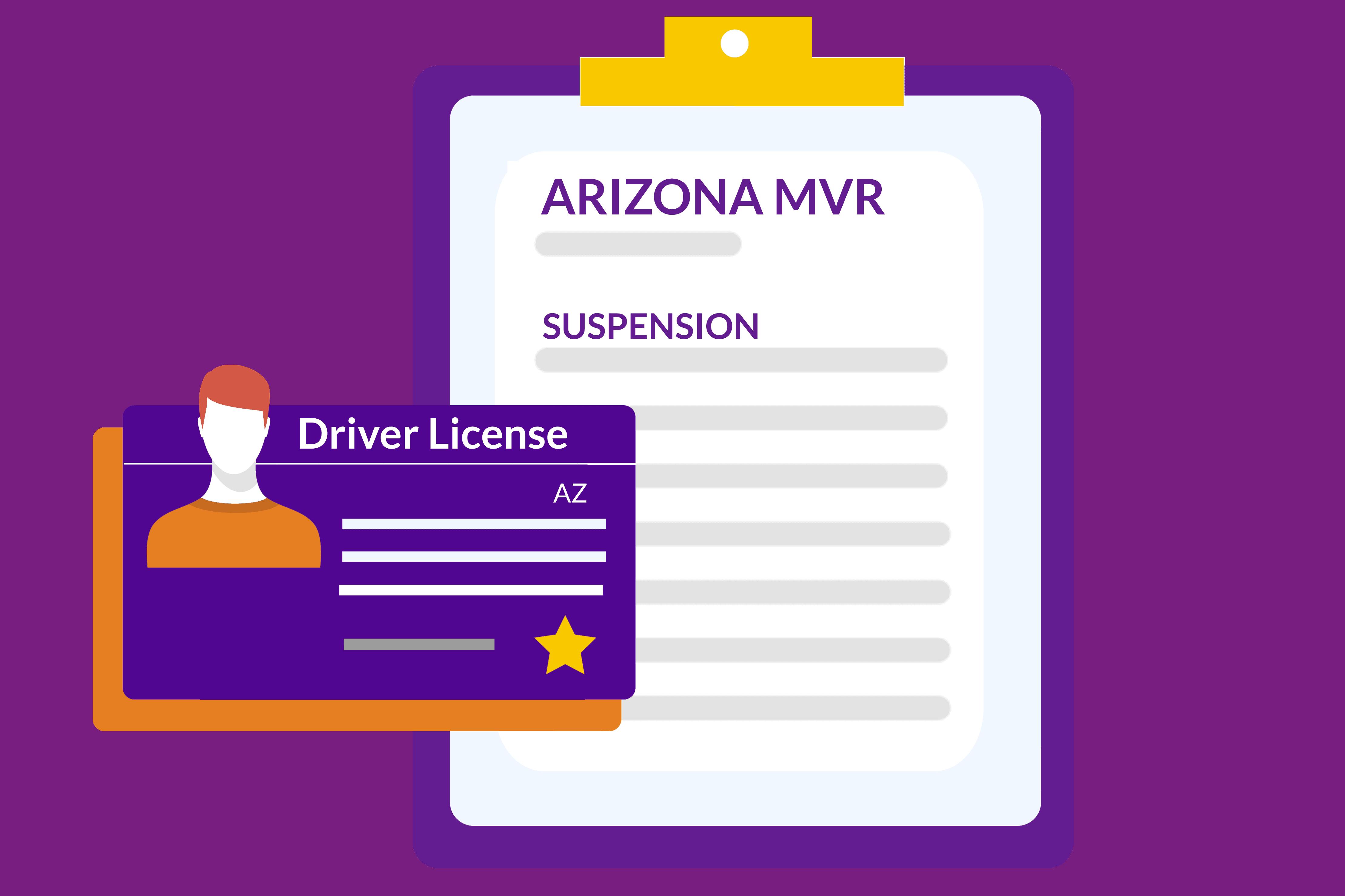 Arizona Driving Records MVR