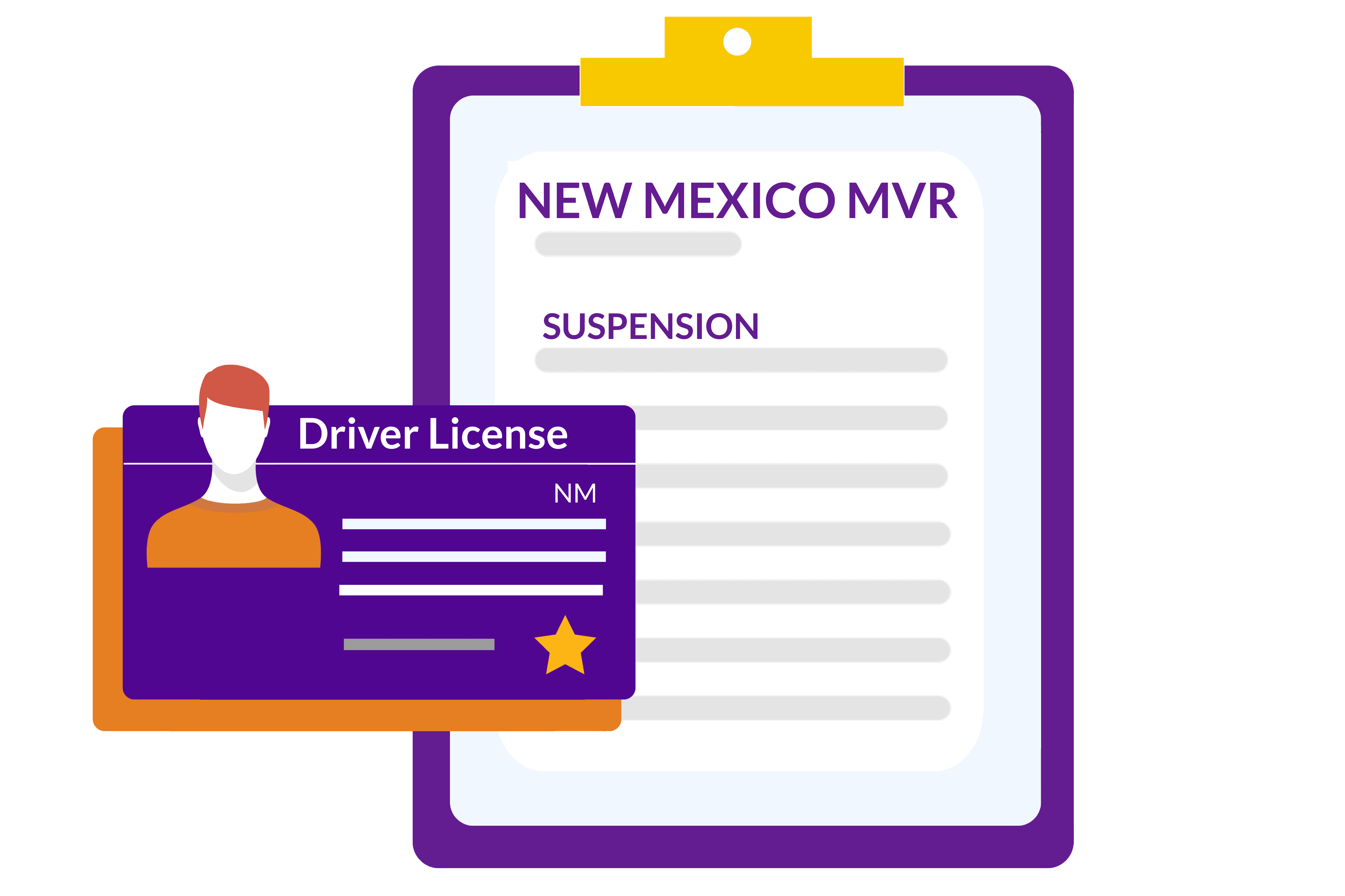 New Mexico-Driving Records-MVR