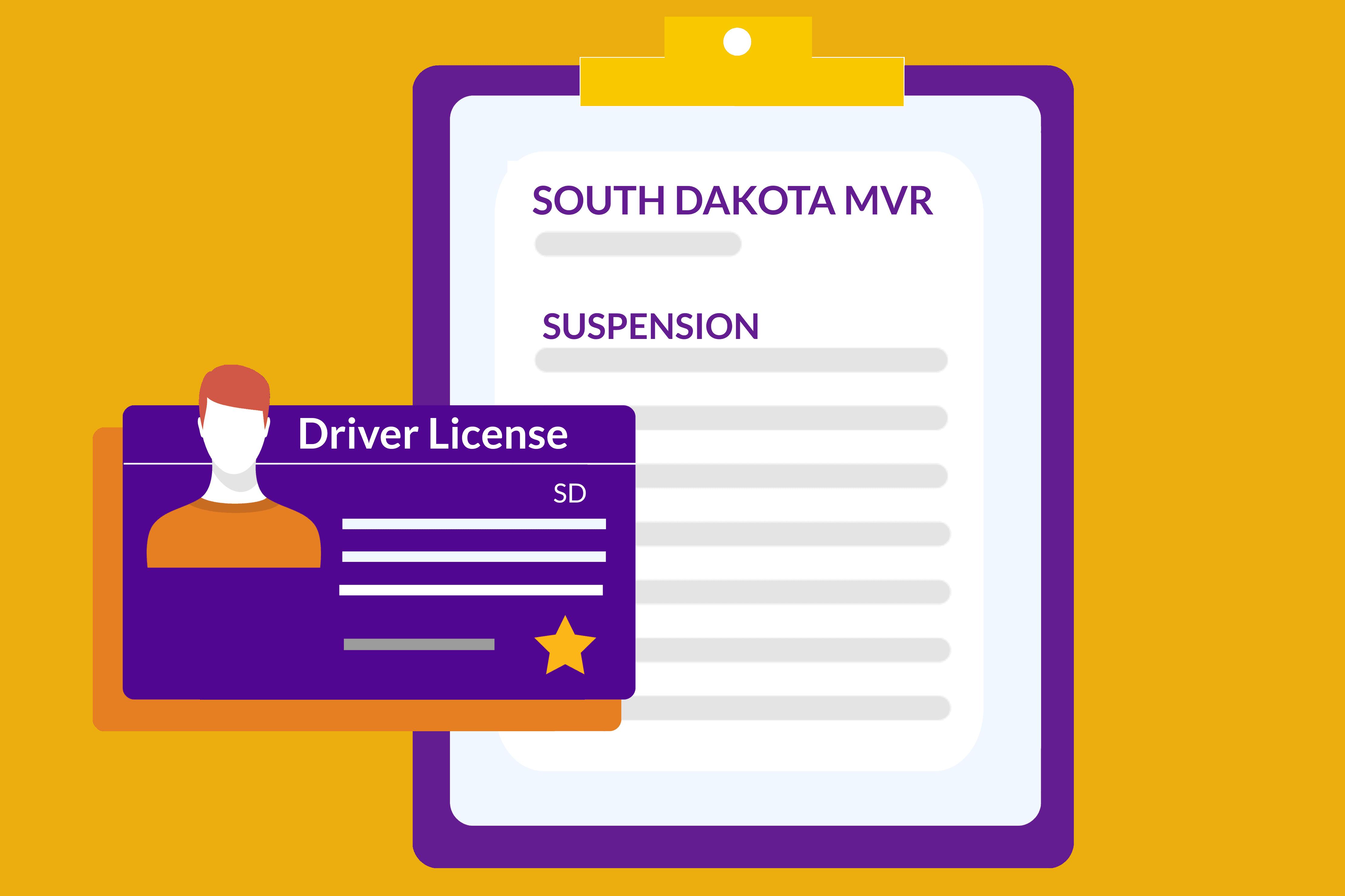South Dakota-Driving-Records-MVR